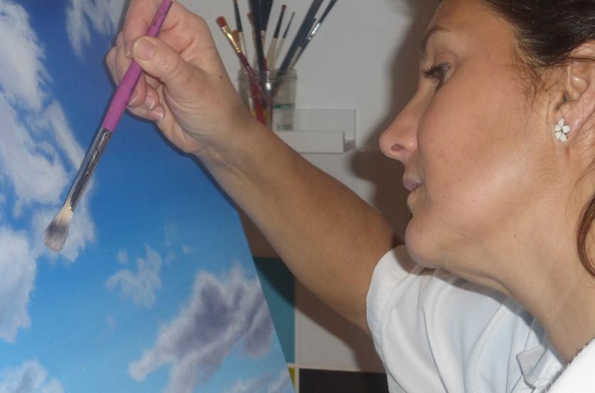 Peinture MA nuages